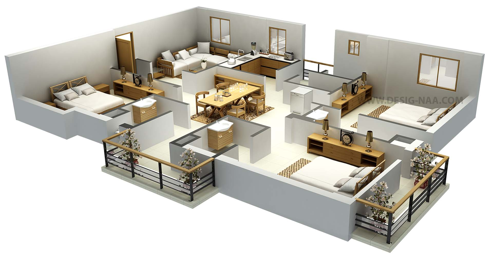 Floor plans design portfolio mercy web solutions Home plan 3d