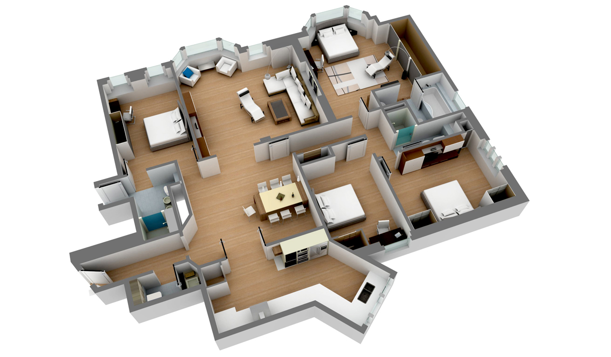 Floor plans design portfolio mercy web solutions for Raumplaner 3d